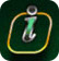 Tap the i icon to review the rules and controls in Blackjack on your mobile device